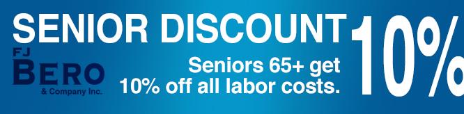 Senior discount coupon