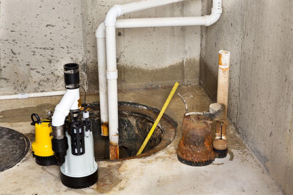 Sump Pump Install